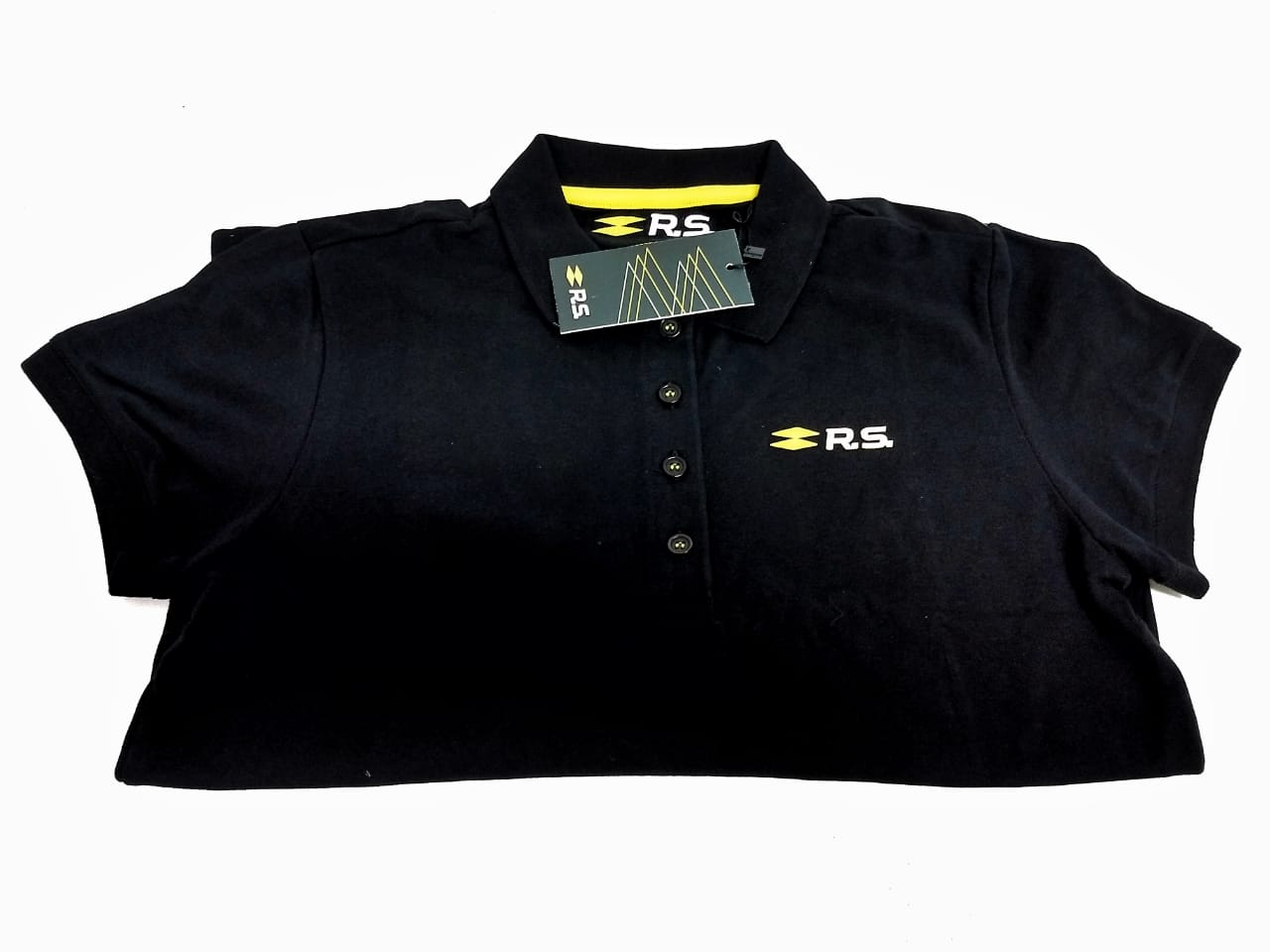 Camisa Polo P New Graphic Rs Feminino - Camiseta - Preto - S